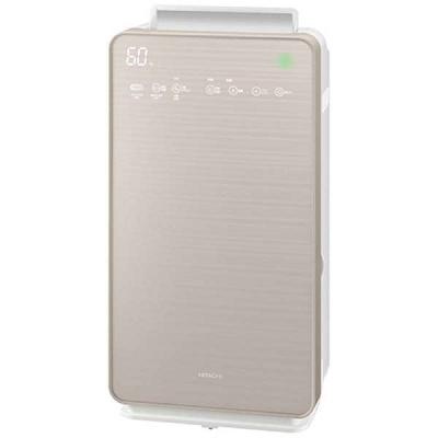 日立 加湿空気清浄機 CLEAIR (空気清浄~42畳/加湿~30畳) シャンパンゴールド EP-NVG90(N)