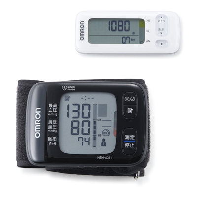 オムロン 手首式血圧計・活動量計