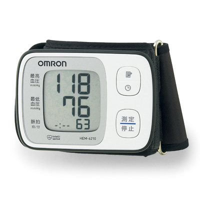 オムロン 手首式自動血圧計