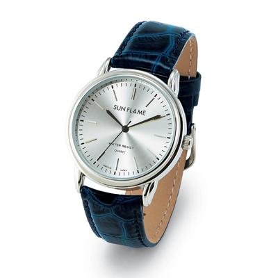 紳士革ベルト腕時計