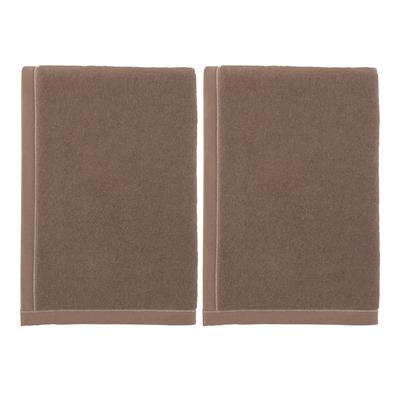 西川リビング  キャメル毛布(毛羽部分)2枚セット
