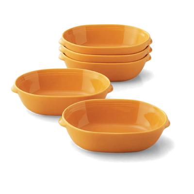 卵型グラタン皿5枚セット