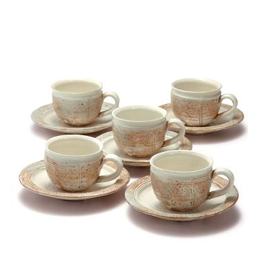 コーヒー碗皿5客揃