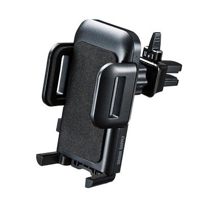 車載ホルダー(エアコン吹き出し口用) CAR-HLD10BK
