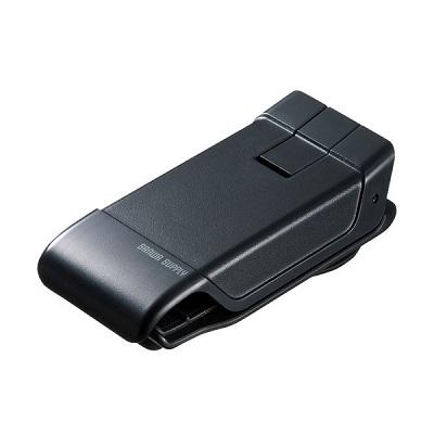 スマートフォン用クリップ型車載ホルダー(強力ゲル吸盤) CAR-HLD9BK