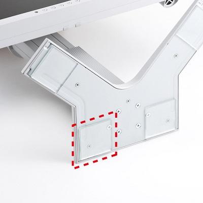 透明耐震ゴムG-BLOXゲル(50mm角4枚入り) QL-E84