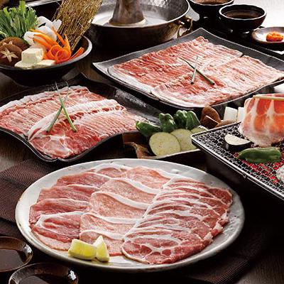 鹿児島黒豚しゃぶしゃぶ肉と焼肉セット