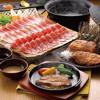 イベリコ豚しゃぶしゃぶ肉と味噌漬け