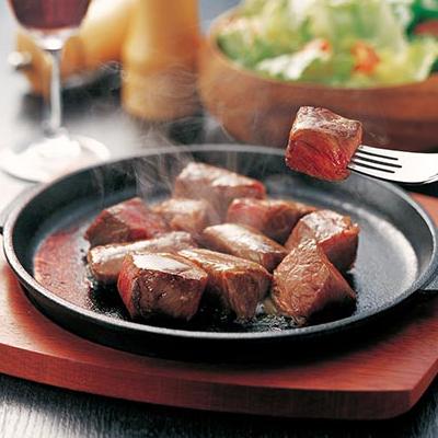 国産黒毛和牛 角切りステーキ