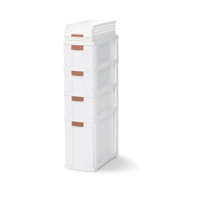 スキ間収納ボックス5段