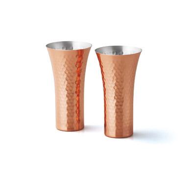 純銅ビアカップ2個セット
