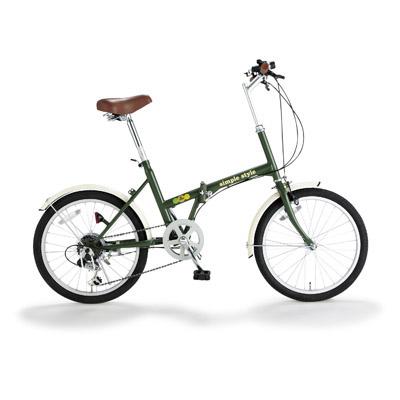 シンプルスタイル 20型折畳自転車 シンプルスタイルH206