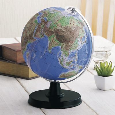 日本地図付地球儀(日本語表記)