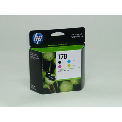 HP hp インクカートリッジ 178 4色マルチパック CR281AA ×2