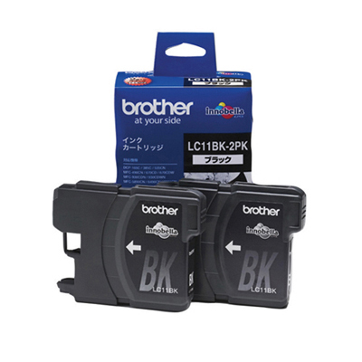 BROTHER インクカートリッジ ブラック インク 2本パック×2