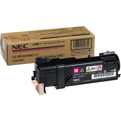 NEC  トナーカートリッジ PR-L5700C-17 大容量マゼンタ