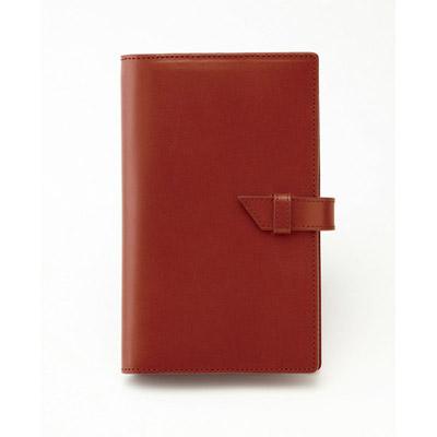手帳カバー ブラウン