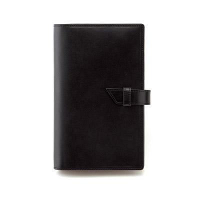 手帳カバー ブラック