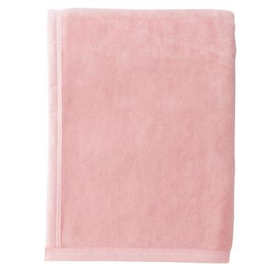 西川リビング シール織ウール毛布 ピンク
