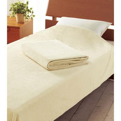 西川リビング シール織ロングサイズ綿毛布2枚セット