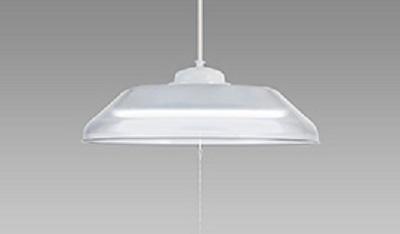 NEC LEDペンダントライト LIFELED'S 調光タイプ 洋風 クリア樹脂セード ~6畳 HCDA0608-X