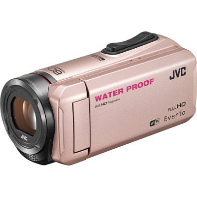 Everio(エブリオ) ハイビジョンメモリービデオカメラ 64GB Wi-Fi搭載 ピンクゴールド GZ-RX500-N