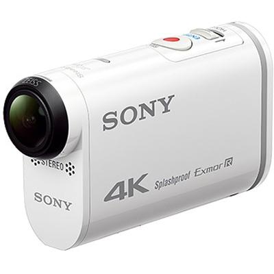 SONY デジタル4Kビデオカメラレコーダー アクションカム FDR-X1000V W