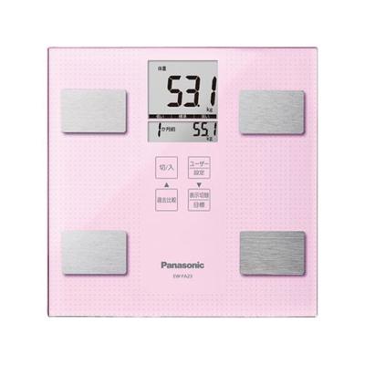 Panasonic 体組成バランス計 ライトピンク EW-FA23-M