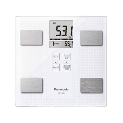 Panasonic 体組成バランス計 ホワイト EW-FA23-W
