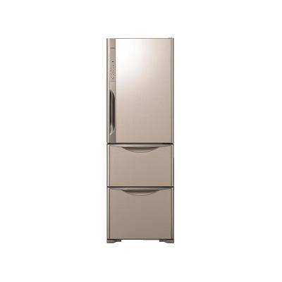 日立 冷蔵庫 365L クリスタル シャンパン 右開き  R-S3700FV-XN