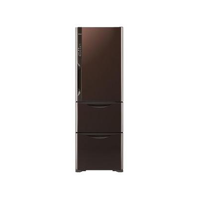 日立 冷蔵庫 365L クリスタル ブラウン 右開き  R-S3700FV-XT