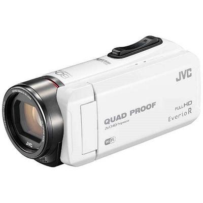 JVC ハイビジョンメモリームービー ビデオカメラ GZ-RX600-W