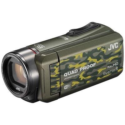 JVC ハイビジョンメモリームービー ビデオカメラ GZ-RX600-G