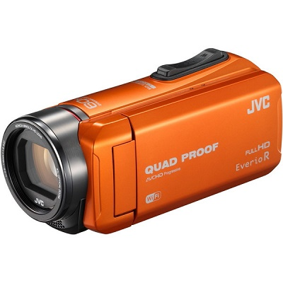 JVC ハイビジョンメモリームービー ビデオカメラ GZ-RX600-D