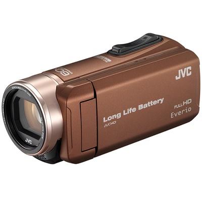 JVC ハイビジョンメモリームービー ビデオカメラ GZ-F200-T