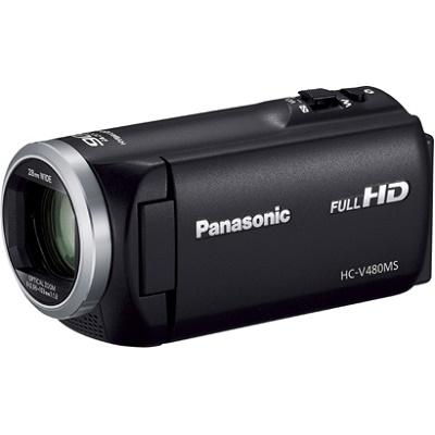 パナソニック デジタルハイビジョンビデオカメラ 32GB HC-V480MS-K