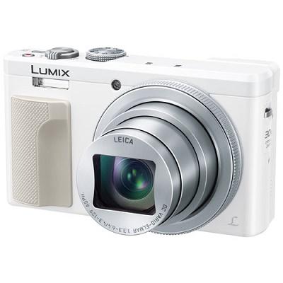 パナソニック コンパクトデジタルカメラ LUMIX DMC-TZ85-W