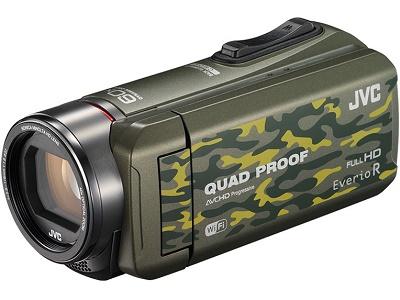 JVCケンウッド ビデオカメラ GZ-RX600-G