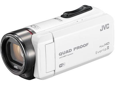 JVCケンウッド ビデオカメラ GZ-RX600-W