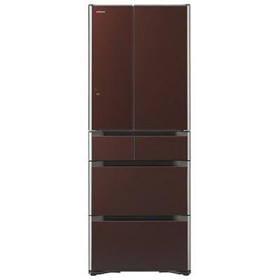 日立 6ドア冷蔵庫 「真空チルド Gシリーズ」(475L) R-G4800F-XT クリスタルブラウン