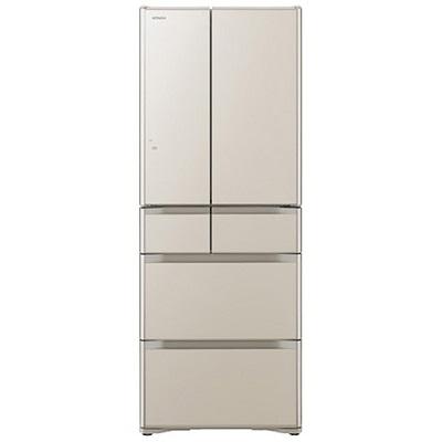 日立 6ドア冷蔵庫 「真空チルド Gシリーズ」(475L) R-G4800F-XN クリスタルシャンパン
