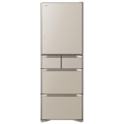 日立 5ドア冷蔵庫 「真空チルド Sシリーズ」(470L・右開き) クリスタルシャンパン R-S4700F-XN