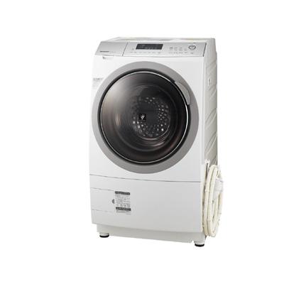 シャープ ドラム式洗濯機 ES-A210-SL(設置有り)