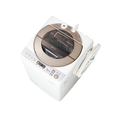 シャープ 縦型洗濯機 ES-GV90R-N(設置有り)