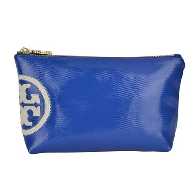 ToryBurch ポーチ [BLUE]