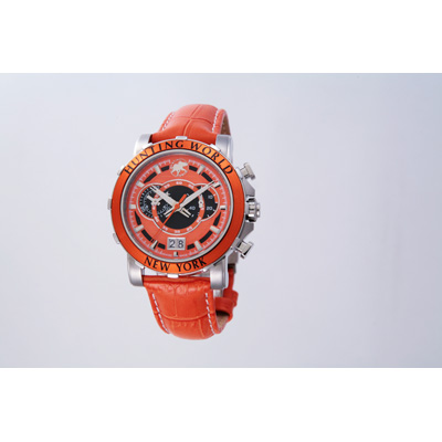 HUNTING WORLD 時計 [オレンジ革]