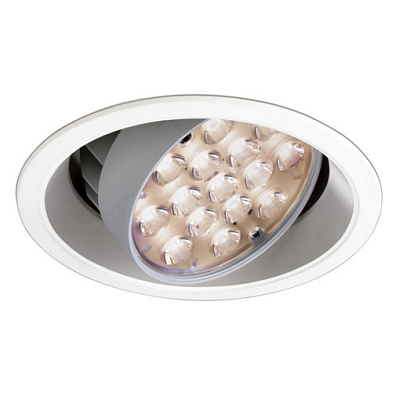 LEDioc LEDユニバーサルダウンライト (コンパクト形メタハラ35W相当) 電球色 (20°)