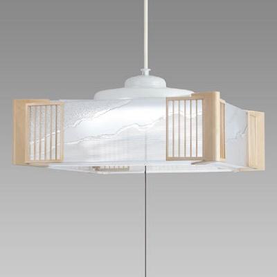 NEC LED和風ペンダントライト ~8畳 昼光色 HCDB0832