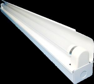 40W型LED蛍光灯用1灯式トラフ(片反射)