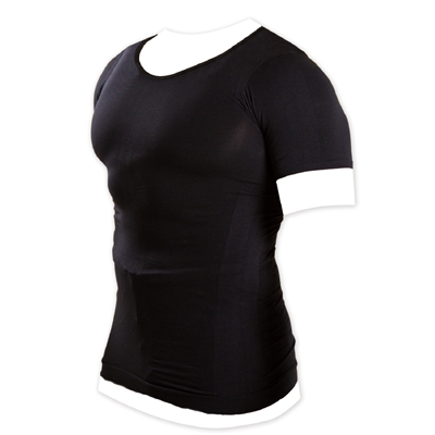 メンズ加圧シャツ ブラック Mサイズ
